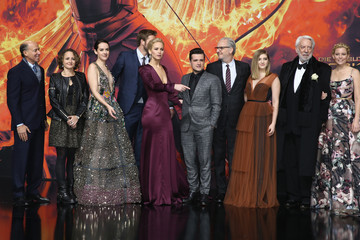 Nina Jacobson Liam Hemsworth 'The Hunger Games: Mockingjay - Part 2' World Premiere in Berlin