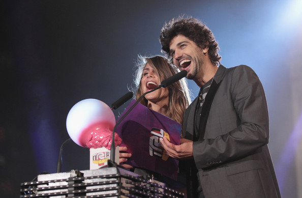 TRL Awards 2011 [performance,entertainment,event,music artist,performing arts,singer,song,singing,talent show,musician,nina senicar,r,bruno cabrerizo,trl awards,florence,italy,l]