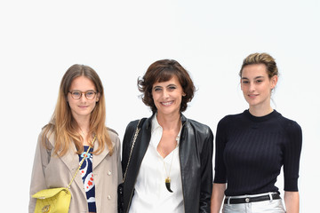 Nine d'Urso Front Row at Chanel