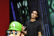 Trey Smith visits the Nintendo booth at the 2019 E3 Gaming Convention at Los Angeles Convention Center on June 12, 2019 in Los Angeles, California.
