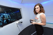Rumer Willis attends the Nintendo Hosts Wii U Experience In Los Angeles on September 20, 2012 in Los Angeles, California.