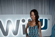 Keisha Whitaker attends the Nintendo Hosts Wii U Experience In Los Angeles on September 20, 2012 in Los Angeles, California.