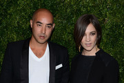 Max Osterweis and Erin Beatty attend The Ninth Annual CFDA/Vogue Fashion Fund Awards at 548 West 22nd Street on November 13, 2012 in New York City.