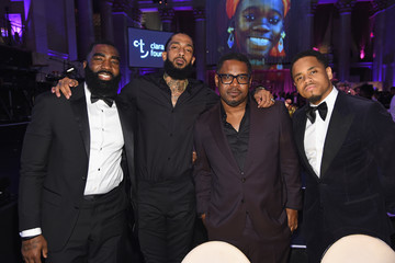 Nipsey Hussle Rihanna's 4th Annual Diamond Ball Benefitting The Clara Lionel Foundation - Inside