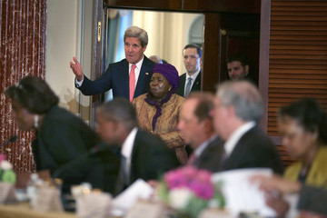 Nkosazana Dlamini-Zuma Kerry Meets With African Union Commission Chairperson At State Dep't