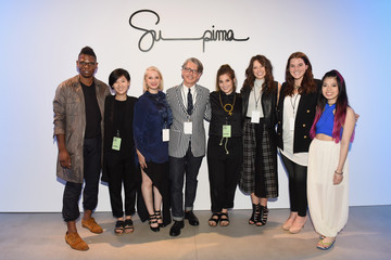 Nnamdi Agum Supima Design Competition - Backstage - Spring 2016 New York Fashion Week: The Shows
