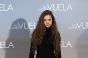 """Spanish actress Yohana Cobo attends """"No Llores, Vuela"""" (Aloft) premiere at the Callao cinema on January 21, 2015 in Madrid, Spain."""