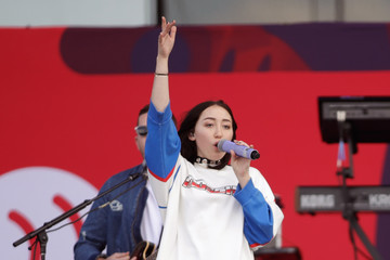 Noah Cyrus 2017 Daytime Village Presented by Capital One at the iHeartRadio Music Festival - Onstage