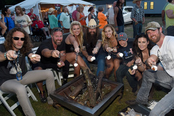 Noah Galloway Chad Fleming Celebrities Attend Pepsi's 'Rock The South' Festival