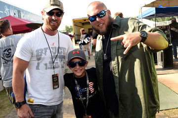 Noah Galloway Colston Galloway Celebrities Attend Pepsi's 'Rock The South' Festival