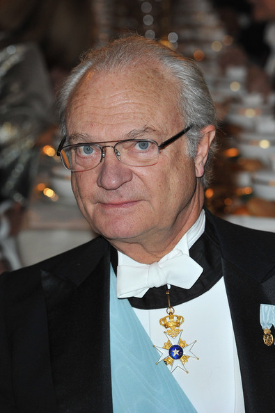 King Carl XVI Gustaf of Sweden attends the Nobel Banquet at the City Hall on December 10, 2011 in Stockholm, Sweden.