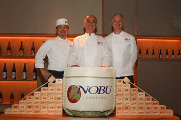 Nobu Matsuhisa Nobu Houston Sake Ceremony