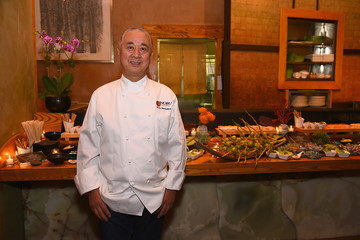 Nobu Matsuhisa Nobu Hotel Miami Beach Launch VIP Cocktail In NYC