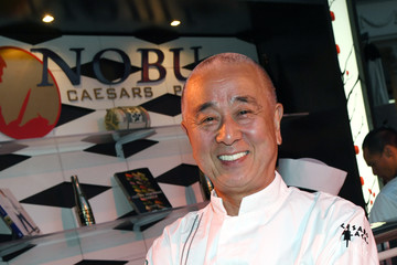 Nobu Matsuhisa Celebrity Chefs Light Up The Strip During Vegas Uncork'd By Bon Appetit's 11th Annual Grand Tasting At Caesars Palace