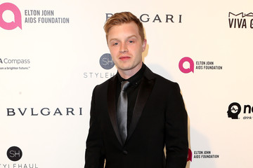 Noel Fisher Celebrities Attend an Oscar Viewing Party