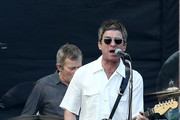 Noel Gallagher and the High Flying Birds perform at Mt Smart Stadium on November 08, 2019 in Auckland, New Zealand.