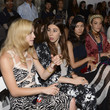 Noemi Sunshine Ferst Rebecca Taylor - Front Row - Mercedes-Benz Fashion Week Spring 2014