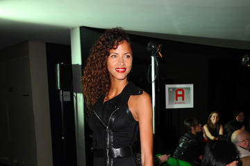 Noemie Lenoir Jean Paul Gaultier : Front Row  - Paris Fashion Week Womenswear Fall/Winter 2014-2015