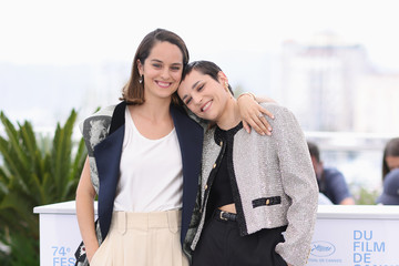 """Noemie Merlant Jehnny Beth """"Belle"""" Photocall - The 74th Annual Cannes Film Festival"""