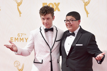 Nolan Gould Rico Rodriguez 67th Annual Emmy Awards - Red Carpet