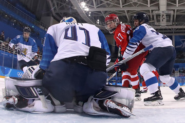 Noora Raty Ice Hockey - Winter Olympics Day 6