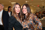 Nina Garcia and Gigi Ganatra attend Nordstrom and ELLE Perfect Pairs Cocktail Party at Nordstrom NYC on November 07, 2019 in New York City.