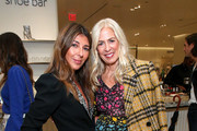 Nina Garcia and Libby Edelman attend Nordstrom and ELLE Perfect Pairs Cocktail Party at Nordstrom NYC on November 07, 2019 in New York City.