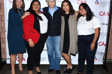 Norman Lear Communities In Schools LA 'Lunch With a Leader'