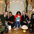Norman Lear Jimmy Kimmel And Friends Celebrate The Holidays With Baileys At Private Party