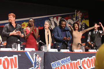 "Norman Reedus ""The Walking Dead"" NY Comic Con Panel"