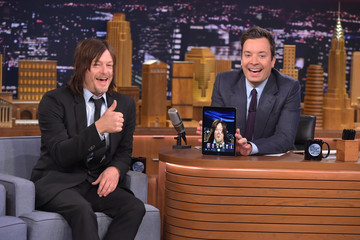 Norman Reedus Norman Reedus Visits 'The Tonight Show Starring Jimmy Fallon'