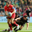 Alex Goode and Courtney Lawes Photos