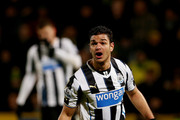 Hatem Ben Arfa of Newcastle during the Barclays Premier League match between Norwich City and Newcastle United at Carrow Road on January 28, 2014 in Norwich, England.