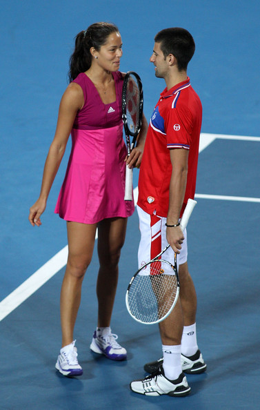 ivanovic and djokovic relationship test