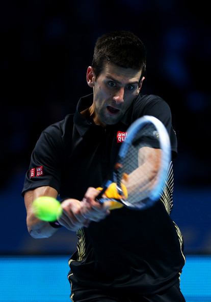 Novak Djokovic - ATP World Tour Finals - Day Five
