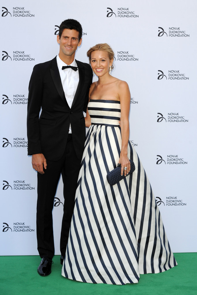 Novak Djokovic - Arrivals at the Novak Djokovic Foundation Dinner — Part 2