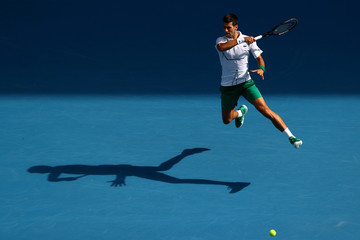 Novak Djokovic European Best Pictures Of The Day - January 24