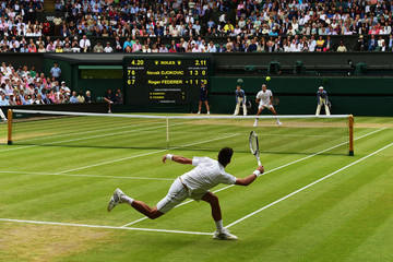 Novak Djokovic Day Thirteen: The Championships - Wimbledon 2015