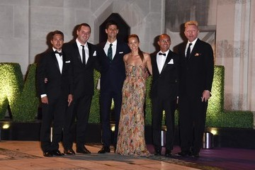 Novak Djokovic Red Carpet Arrivals at the Wimbledon Champions Dinner