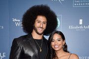 """Colin Kaepernick and Nessa Diab attend as O, The Oprah Magazine hosts special NYC screening of """"A Wrinkle In Time"""" at Walter Reade Theater at Walter Reade Theater on March 7, 2018 in New York City."""