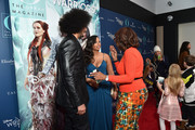 """Colin Kaepernick and Nessa Diab speak with Gayle King as they attend as O, The Oprah Magazine hosts special NYC screening of """"A Wrinkle In Time"""" at Walter Reade Theater at Walter Reade Theater on March 7, 2018 in New York City."""