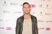 Model/actor Adam Senn attends OK Magazine's So Sexy L.A. Event at LURE on May 21, 2014 in Los Angeles, California.