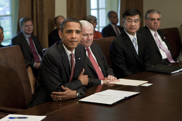 Eric K. Shinseki Obama Addresses McChrystal Comments