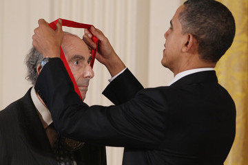 Philip Roth Obama Confers Nat'l Medal of Arts And Nat'l Humanities Medal To 20 Honorees