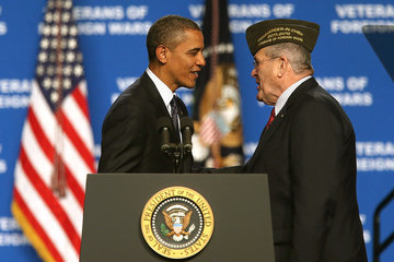 Richard L. DeNoyer Obama Delivers Remarks At 113th VFW Convention In Reno