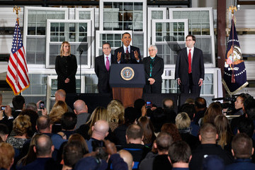 Heather Higginbottom Obama Discusses Economy At Maryland Manufacturing Plant And Announces Gene Sperling As Economic Council Head