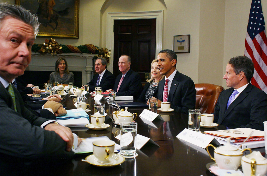 Obama Hosts Summit Meeting With European Union Leaders At ...
