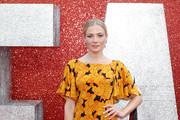 Clara Paget attends the 'Ocean's 8' UK Premiere held at Cineworld Leicester Square on June 13, 2018 in London, England.