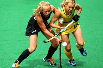 Stacey Michelsen Fiona Boyce Oceania Cup - Olympic Qualifers: Day 3
