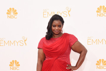 Octavia Spencer Arrivals at the 66th Annual Primetime Emmy Awards — Part 2